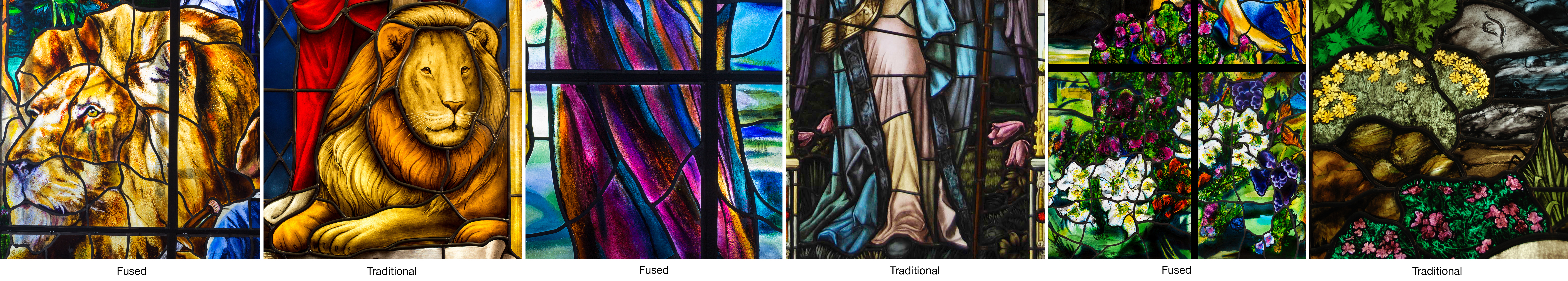 Fused Glass Can Be Successfully Leaded Or Span Up To A Continuous Panel Of 8 Feet By 4 We Work Directly With Our Clients Understand Specific Needs